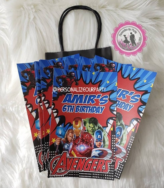 """/""""Incredibles 2/"""" Custom Personalized Birthday Tote Bag Party Favor NEW"""