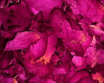 Rose Petals - 1 oz Japanese Beach Rose (Rosa rugosa) Organic Dried Flowers