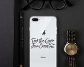 Fork The Gym, Join Crossfit iPhone Case