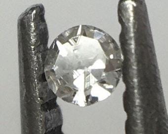 Superb!! 0.01 ct Fancy Light Grey VS2 Single Cut Round Diamond