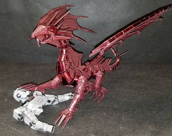 Dragon Flame Red 3D