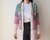 Knitwear Jacket-Tassel co...