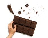 chocolate bar bag clutch ...