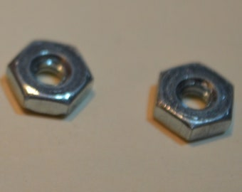 Package of Hex Nuts, #6 x 32 Hex Nut, Qty. 250