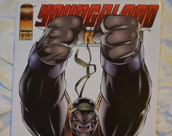 Youngblood Strikefile comic book, Image Comics, Volume 1, No. 4, October 1993