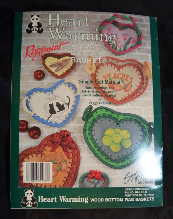 Country Rags Ragpoint Baskets For the Country Home Fabric Plaid Suzanne McNeill