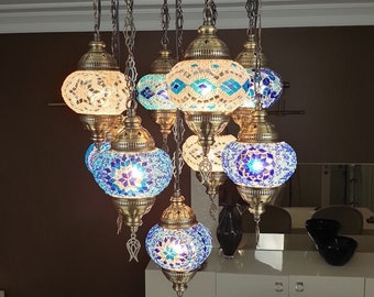 How to Hang a Chandelier (For Renters) Stars for
