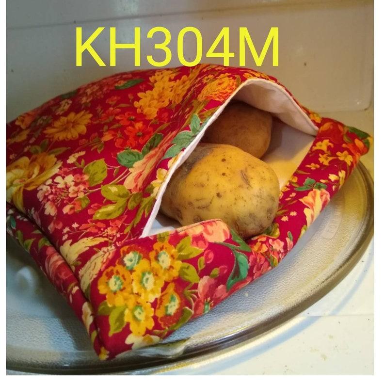 Kitchen Appliance Pattern Free Shipping Microwave Potato  Vegetable Bag