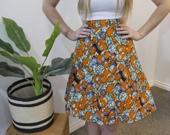 Ankara Wrapper Skirt