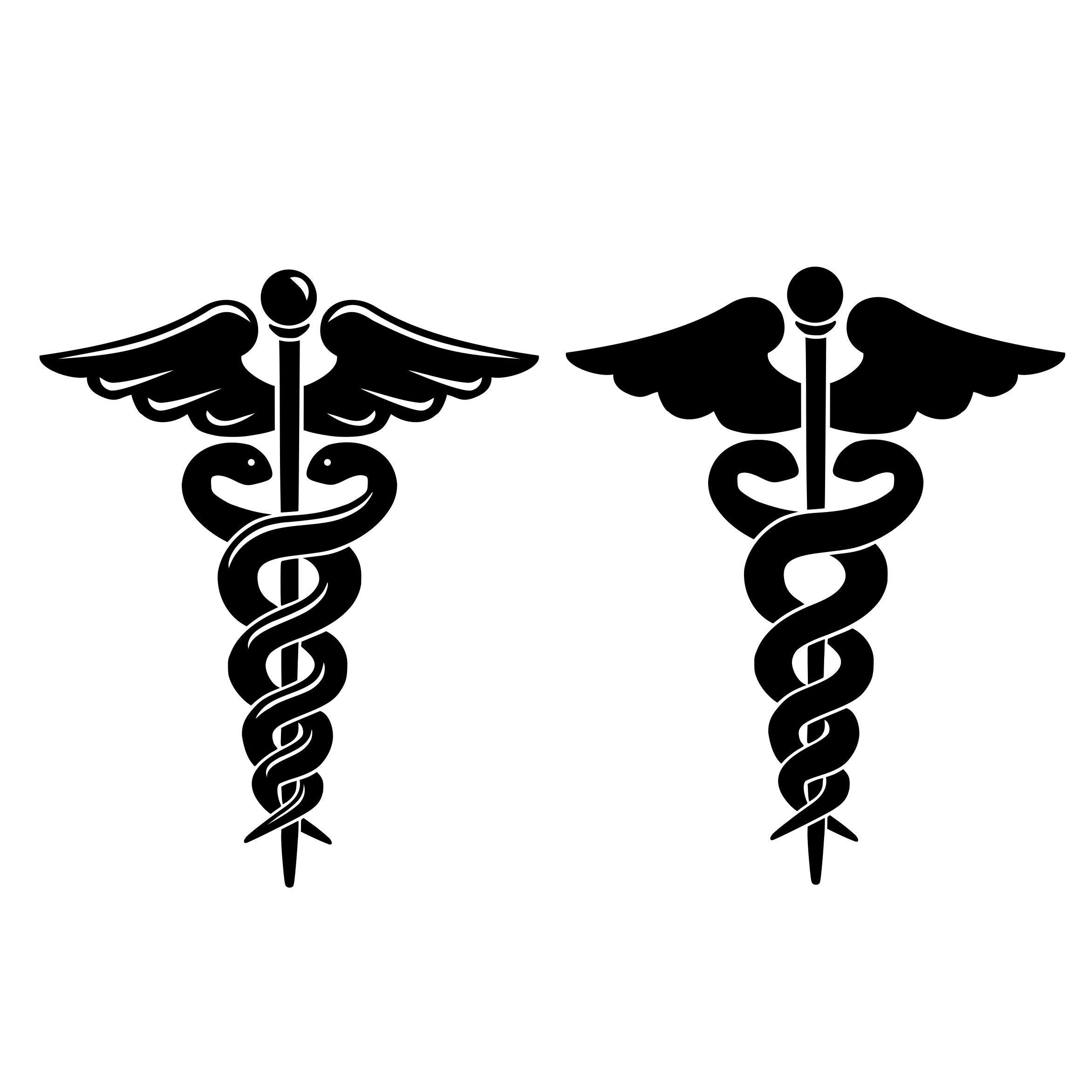 Caduceus svg Medical symbol Nurse svg RN svg file for ...