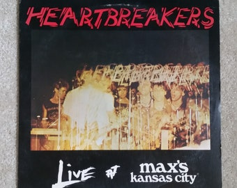 Heartbreakers (Johnny Thunders and the) (VINYL) - Live At Max's Kansas City (ORIGINAL '79/punk history/great condition)