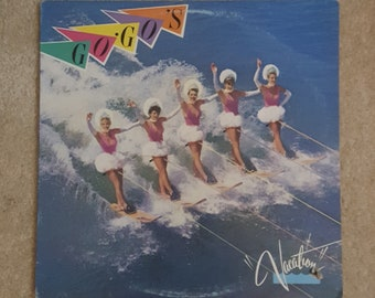 Go-Go's (Vinyl) - Vacation LP (Original '82 w/ printed inner lyric sheet/Vacation/Beatnik Beach/New Wave 80s/Vinyl Record)