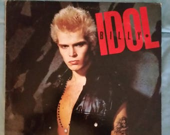 Billy Idol - Billy Idol LP (Original '82 record/GREAT price/contains CONGO Man)