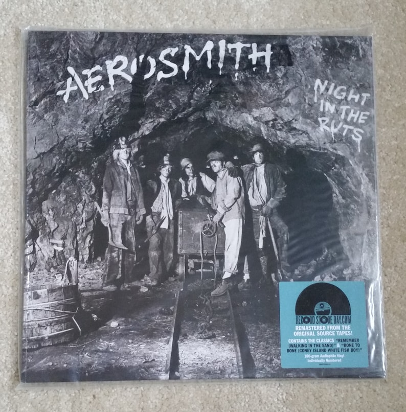 SEALED Aerosmith Vinyl - Night In The Ruts LP -- Limited RSD #1215/3000,  Reefer Head Woman,Chiquita, Steven Tyler, Joe Perry, Vinyl Record