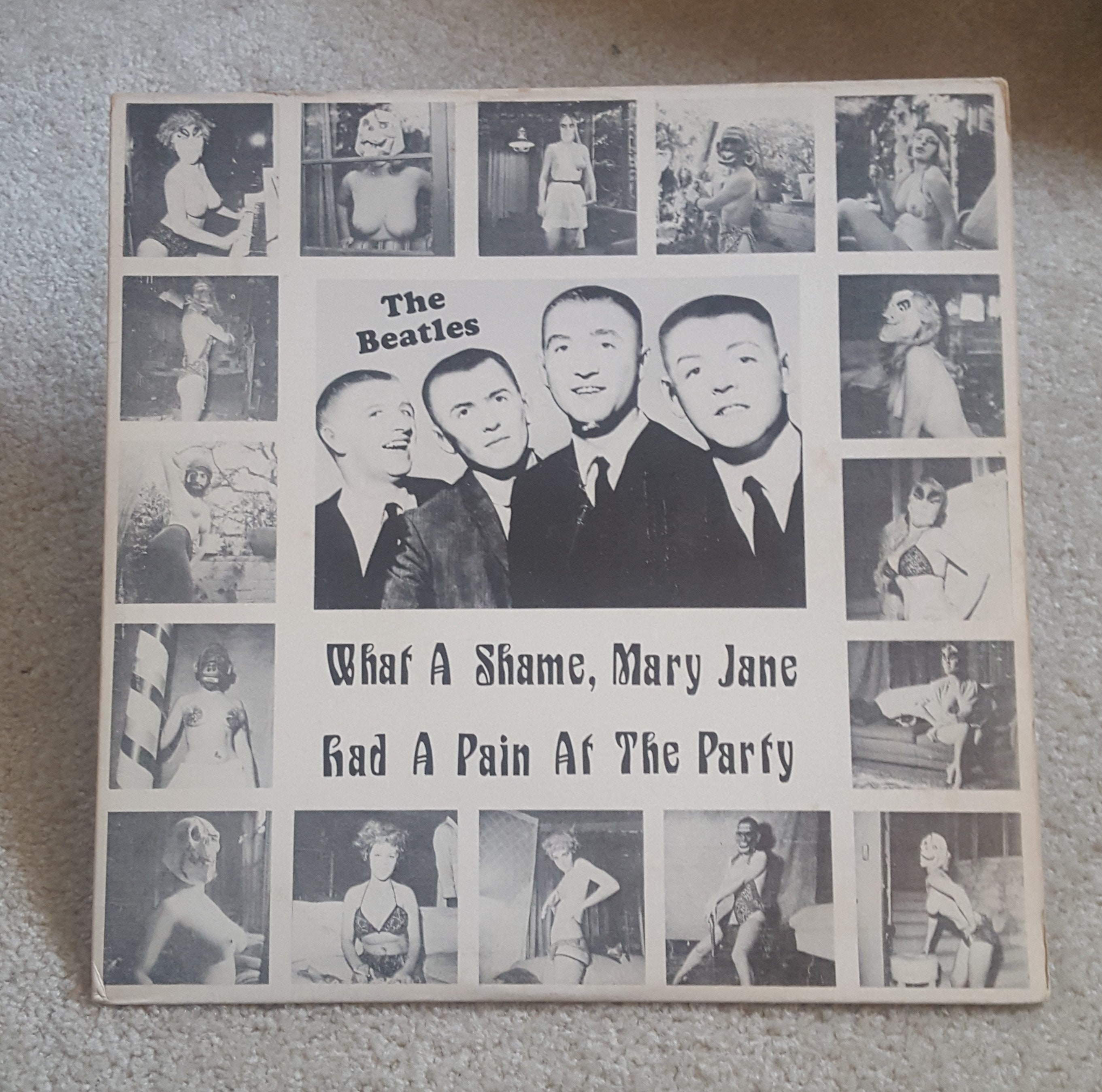 RARE The Beatles Vinyl - What A Shame, Mary Jane Had A Pain At The Party -  1979 ORIGINAL 12