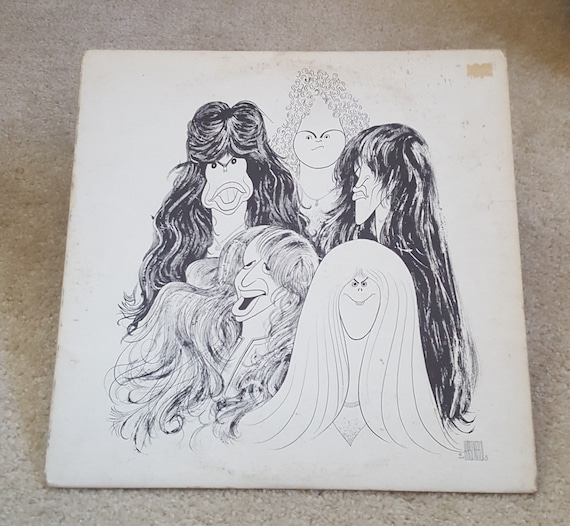 Aerosmith Vinyl Draw The Line Lp 1977 Original W Printed Etsy