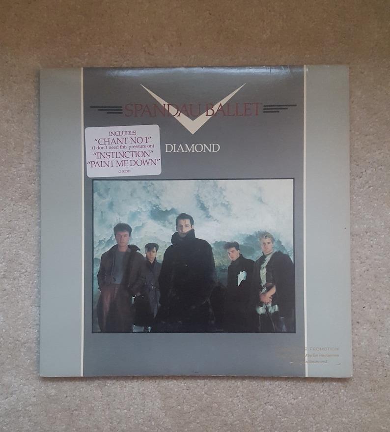 Spandau Ballet Vinyl - Diamond LP 1982 Original Gold Stamp Promo, Chant No  1, Instinction, Tony Hadley, 80s New Wave Vintage Record