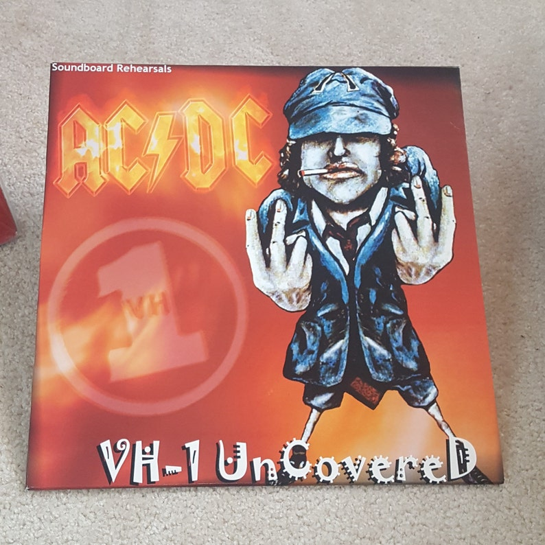 AC/DC Vinyl - VH-1 Uncovered Lp -- Limited to 500 Soundboard rehearsals at  the Vh1 Studio B, London, Uk, 5th July 1996 Free Shipping