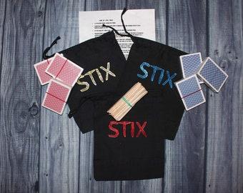 Sticks Card Game