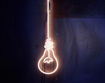 Lightbulb Neon Sign