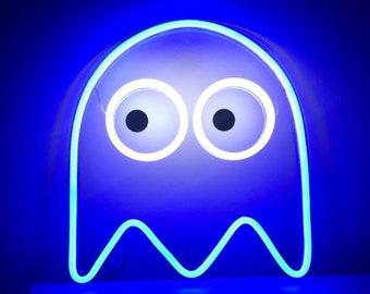 Pacman Neon Sign
