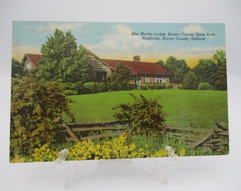 Vintage Brown County State Park Nashville IN Miniature Postcard Folio Set 1940/'s from DustyMillerAntiques