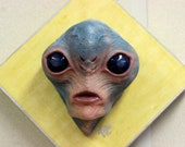 The Alien (wall hanging)