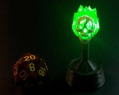 Flameskull with Flickering Green LED for Dungeons and Dragons D&D