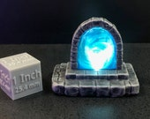 Glowing Portal with swappable color insert for D&D Dungeons and Dragons