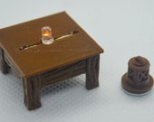 "1"" Square Wooden Lantern Table Base for Tavern / Inn series - Dungeons and Dragons D&D"
