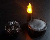 Torch Marker with Flickering LED light for Dungeons and Dragons D&D