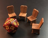 Wooden Chairs for Inn, Tavern, Etc. 28mm