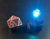 "Driftglobe with ""Breathing"" LED light for Dungeons and Dragons D&D"