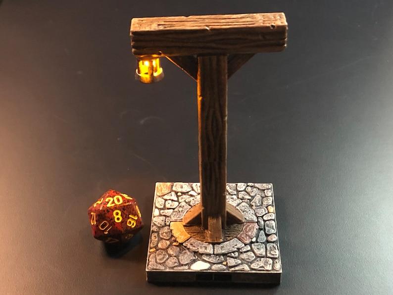 Village Exterior Lantern / Timber Frame Light on cobblestone image 0