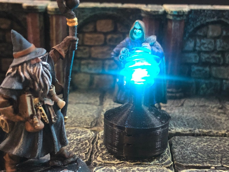 Driftglobe with Breathing LED light for Dungeons image 1