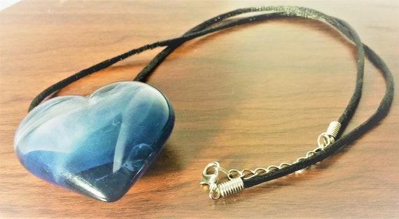 Heart Pendant, Heart Necklace, ...