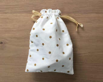 DrawString pouch / organic cotton