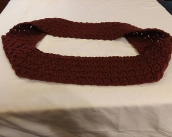 Infinity scarf Brown