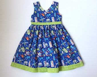 Robot Girl Dress