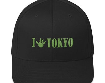 bf6807fda54 I  CLAW  Tokyo Embroidered Hat~Hobby Gamer FlexFit Hats~Board Game Ball Caps