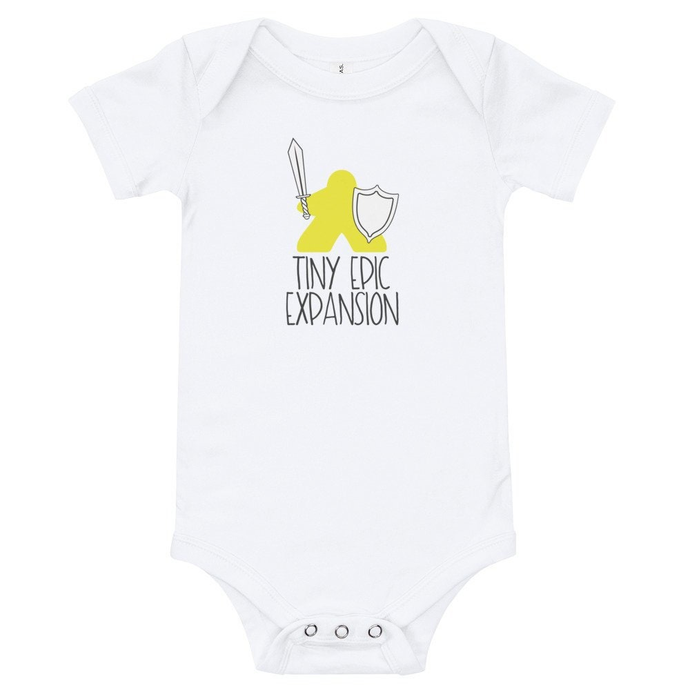 Meeple Infant Bodysuit~Board Game Baby~Tiny Epic Expansion Body Suit for Board Game Geek Family~Table Top Gamer Graphic Tees for Family