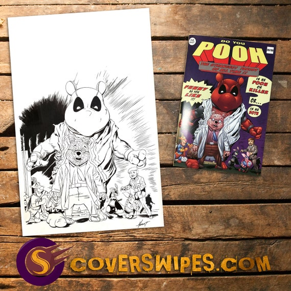 Do You Pooh Original Published Art