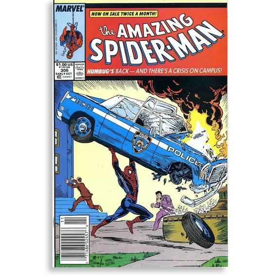 Amazing Spider-Man #306 Newsstand Edition