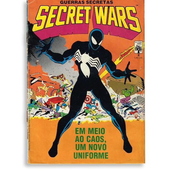 Secret Wars #8 Brazilian