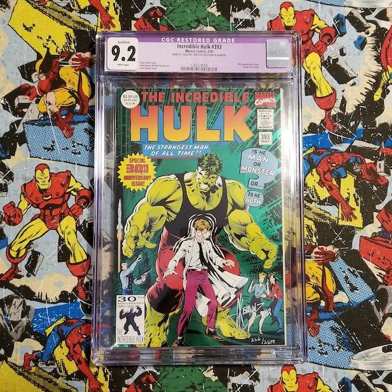 Incredible Hulk #393 Signed by Dale Keown - Incredible Hulk #1 Homage