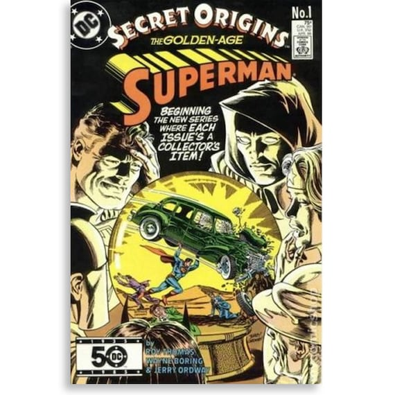 Secret Origins Vol 2 #1