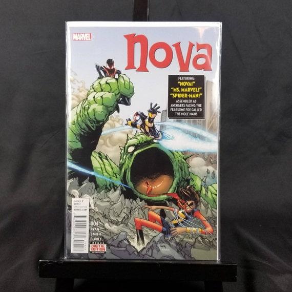 Nova #4 - Fantastic Four #1 Homage