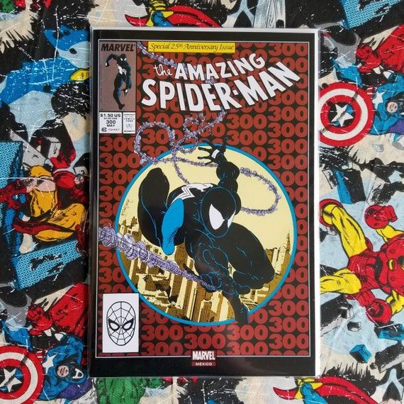 Low Grade Amazing Spider-man #300 Red Chrome Foil Edition