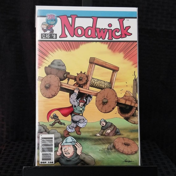 Nodwick #8 - Action Comics #1 Homage