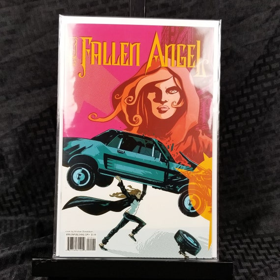 Fallen Angel (2nd Series IDW) - Action Comics #1 Homage